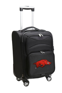 Arkansas Razorbacks Luggage Carry-On 21in Spinner Softside Nylon