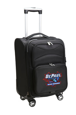 Depaul Blue Demons Luggage Carry-On 21in Spinner Softside Nylon