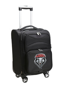 New Mexico Lobos Luggage Carry-On 21in Spinner Softside Nylon