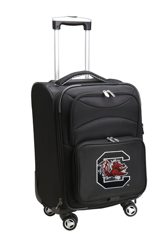 South Carolina Gamecocks Luggage Carry-On 21in Spinner Softside Nylon