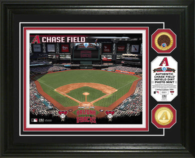 arizona diamondbacks chase field game used dirt