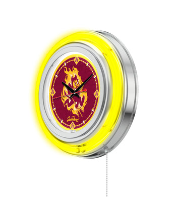 arizona state sun devils football, arizona state sun devils basketball, arizona state sun devils neon clock