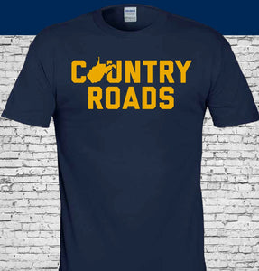 wvu football, wvu basketball, wvu country roads shirt