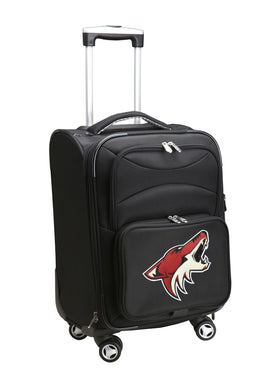 Arizona Coyotes Luggage Carry-On 21in Spinner Softside Nylon