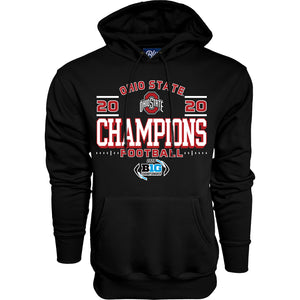 Ohio State Buckeyes 2020 BIG 10 Football Champs Hoody
