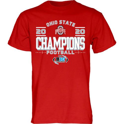 Ohio State Buckeyes 2020 BIG 10 Football Champions Shirt