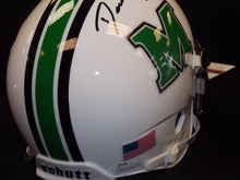 devon johnson marshall thundering herd signed mini helmet
