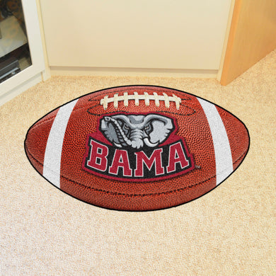Alabama Crimson Tide Big Al Football Rug - 20.5