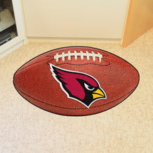 Arizona Cardinals Football Shaped Rug, Cardinals mat