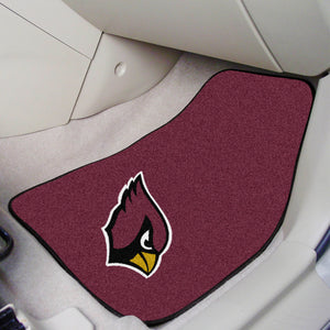 "Arizona Cardinals 2-piece Car Mats - 18""x27"""
