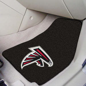 "Atlanta Falcons 2-piece Car Mats - 18""x27"""