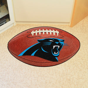"Carolina Panthers Football Rug - 20.5""x32.5"""