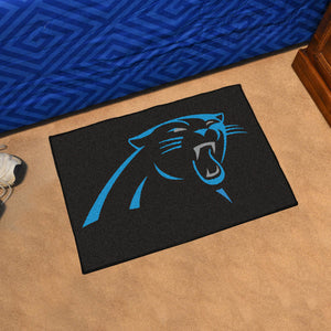 "Carolina Panthers Starter Rug - 19""x30"""