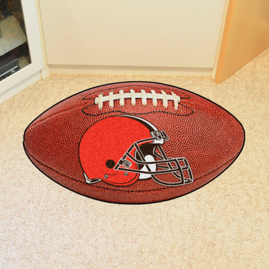 Cleveland Browns Football Rug - 20.5