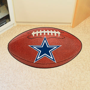 "Dallas Cowboys Football Rug - 20.5""x32.5"""