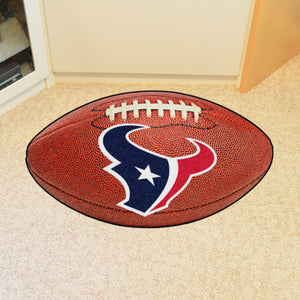 "Houston Texans Football Rug - 20.5""x32.5"""