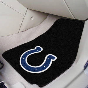 "Indianapolis Colts  2-piece Car Mats - 18""x27"""