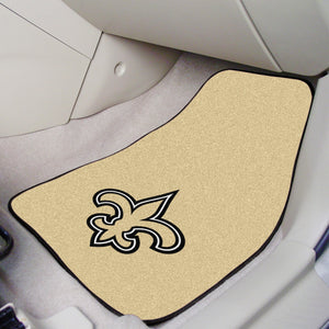 "New Orleans Saints  2-piece Car Mats - 18""x27"""
