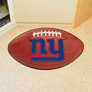 "New York Giants Football Rug - 20.5""x32.5"""