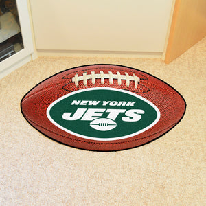 "New York Jets Football Rug - 20.5""x32.5"""