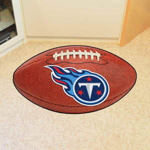 "Tennessee Titans Football Rug - 20.5""x32.5"""