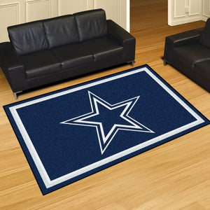 Dallas Cowboys Plush Area Rugs -  5'x8'