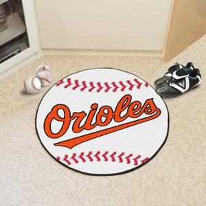 baltimore orioles baseball mat