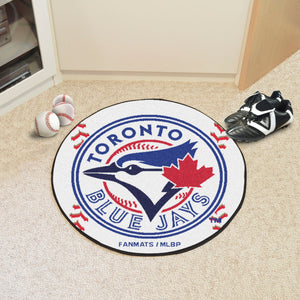 Toronto Blue Jays Baseball Mat - 27""