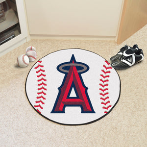 Los Angeles Angels Baseball Mat - 27""