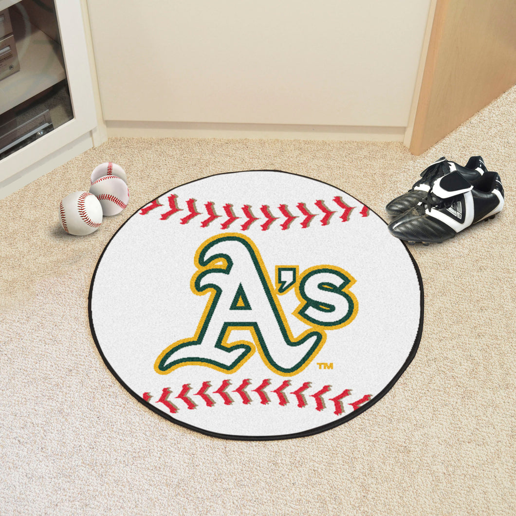 Oakland Athletics Baseball Mat Mat - 27