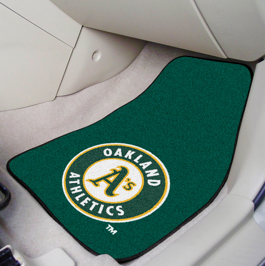 MLB - Oakland Athletics car mats
