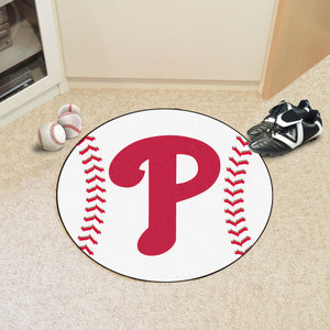 Philadelphia Phillies Baseball Mat - 27""