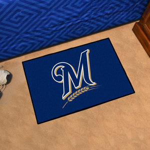 Milwaukee Brewers Rug #1