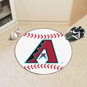 Arizona Diamondbacks Baseball Mat - 27""