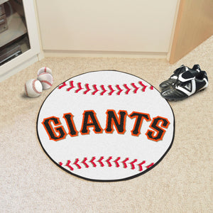 San Francisco Giants Baseball Mat - 27""