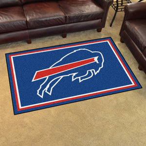 Buffalo Bills Plush Area Rugs -  4'x6'