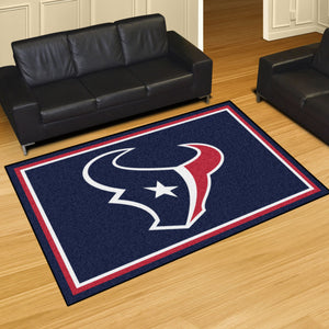 Houston Texans Plush Area Rugs -  5'x8'