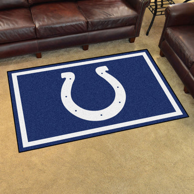 Indianapolis Colts Plush Area Rugs -  4'x6'