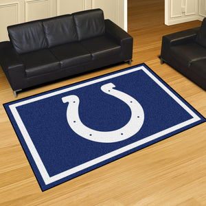 Indianapolis Colts Plush Area Rugs -  5'x8'