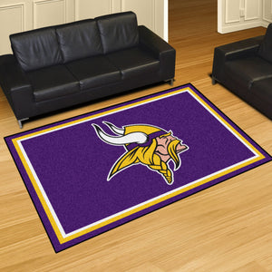 Minnesota Vikings Plush Area Rugs -  5'x8'