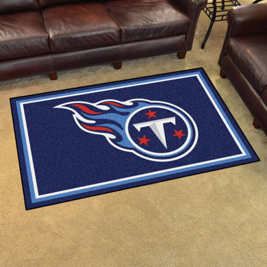 Tennessee Titans Plush Area Rugs -  4'x6'