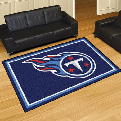 Tennessee Titans Plush Area Rugs -  5'x8'