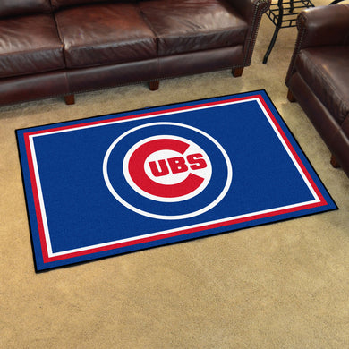 Chicago Cubs Plush Rug - 4'x6'