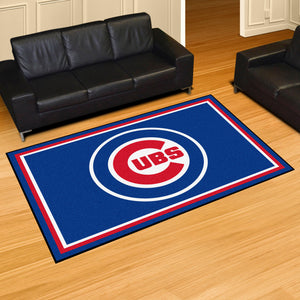 Chicago Cubs Plush  Rug - 5'x8'