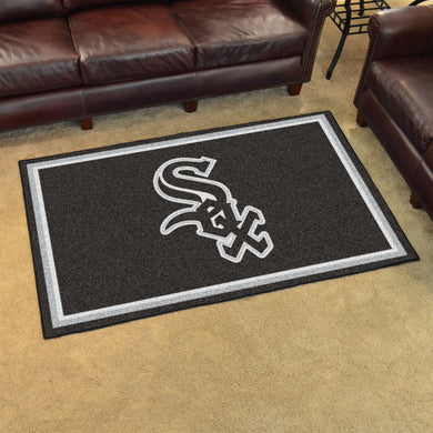 Chicago White Sox Plush Rug - 4'x6'