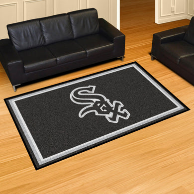 Chicago White Sox Plush  Rug - 5'x8'