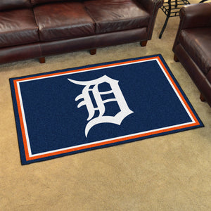 Detroit Tigers Plush Rug - 4'x6'
