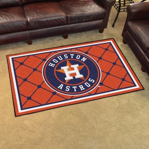 Houston Astros Plush Rug - 4'x6'