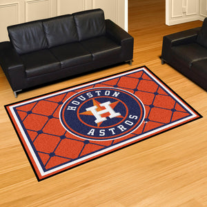 Houston Astros Plush Rug - 5'x8'