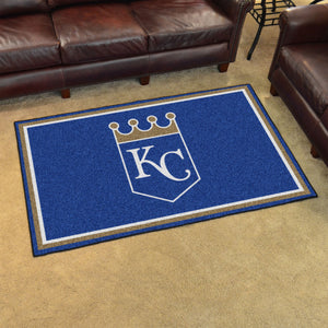 Kansas City Royals Plush Rug - 4'x6'